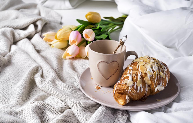 Обои ассорти, завтрак, Постель. Еда foto 15