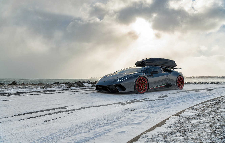 Обои Lamborghini, Облака, красиво, темный фон. Автомобили foto 19
