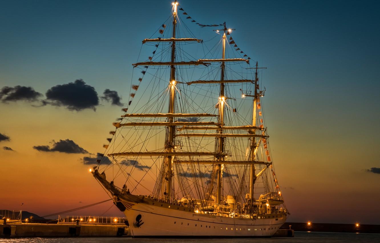 Обои паруса, корабль. Разное foto 15