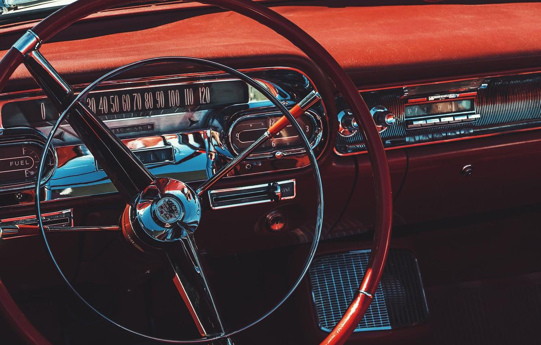 Фото обои радио, спидометр, руль, Daniel von Appen