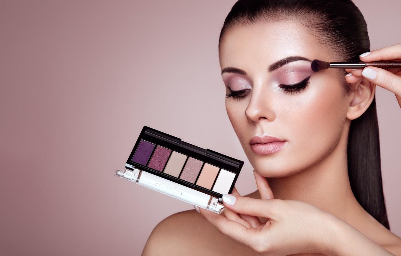 Фото обои девушка, стиль, модель, макияж, тени, Oleg Gekman
