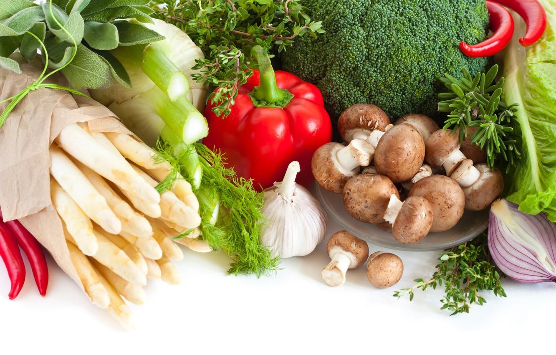 Картинки овощей грибов