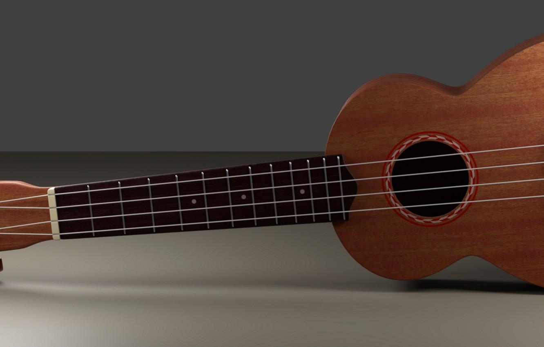 Фото обои гитара, струны, инструмент, гриф