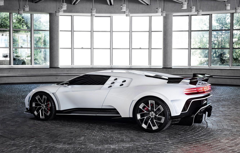 Фото обои машина, Bugatti, гиперкар, Centodieci