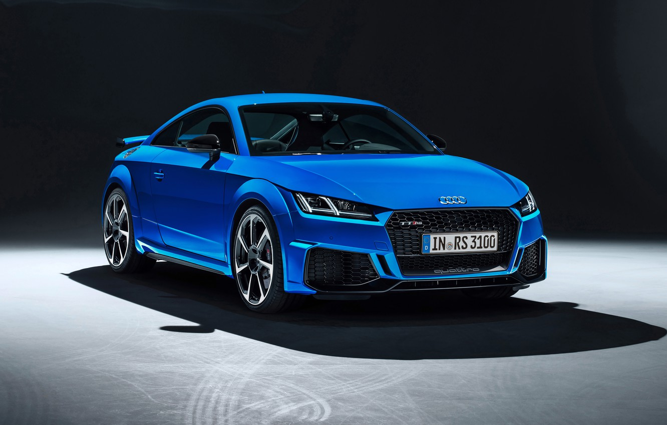 Фото обои Audi, Coupe, TT RS, 2019