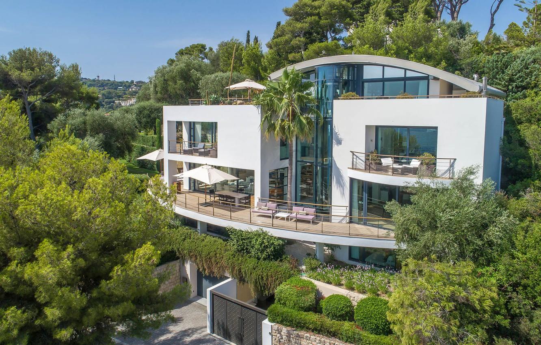Фото обои France, garden, Luxury villa, St. Jean Cap Ferrat
