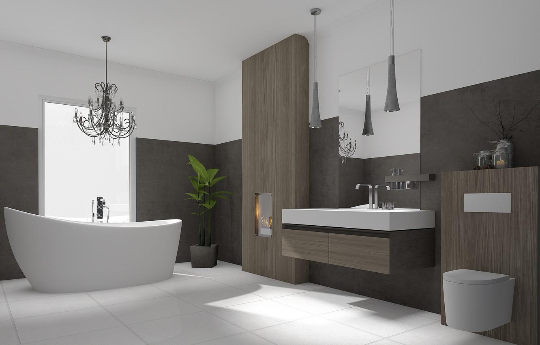 Фото обои дизайн, интерьер, модерн, ванная комната