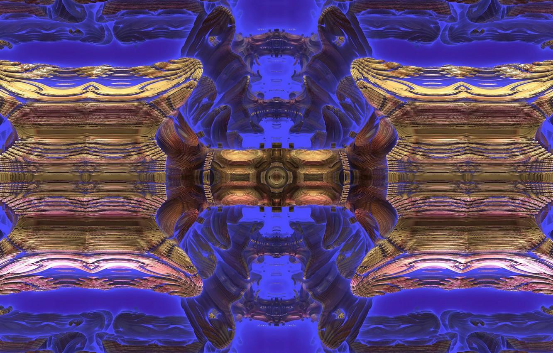 Фото обои узор, фракталы, фигура, figure, pattern, компьютерная графика, fractals, computer graphics