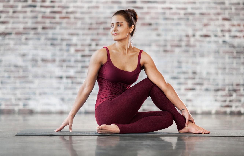 Фото обои fitness, yoga, pilates, activewear