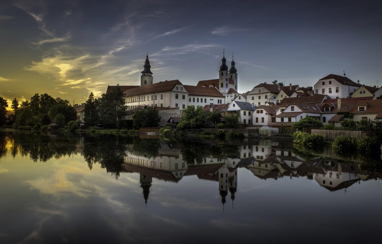 Фото обои Чехия, Тельч, Czech