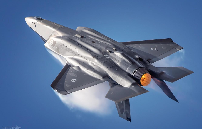 Обои «лайтнинг» ii, F-35, Lockheed, Самолёт. Авиация foto 7