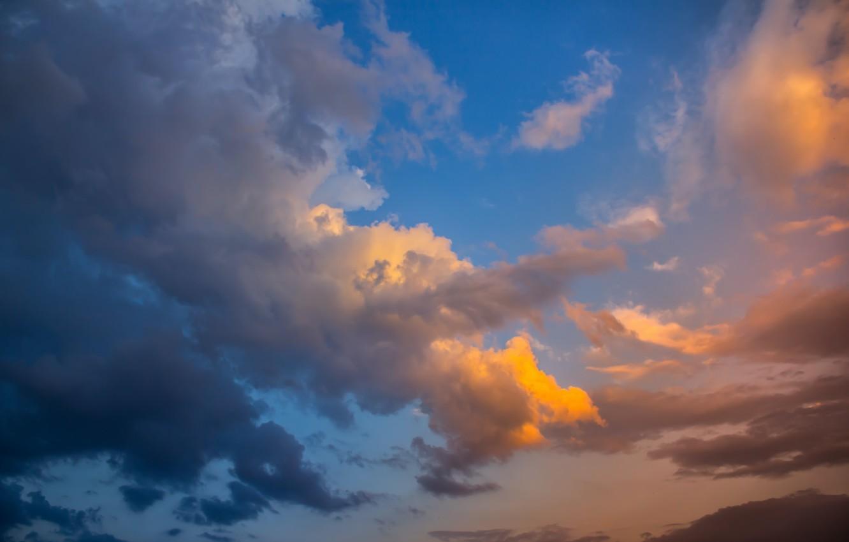 Фото обои лето, небо, облака, свет