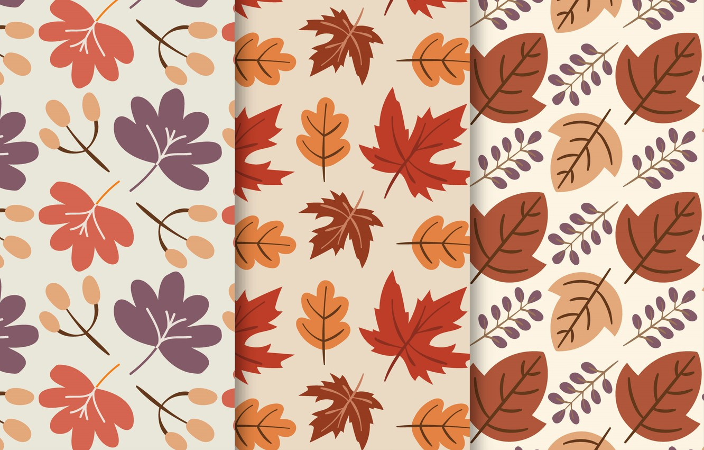 Фото обои листья, фон, текстура, pattern, Colors, Background, collection, Leaves, Hand