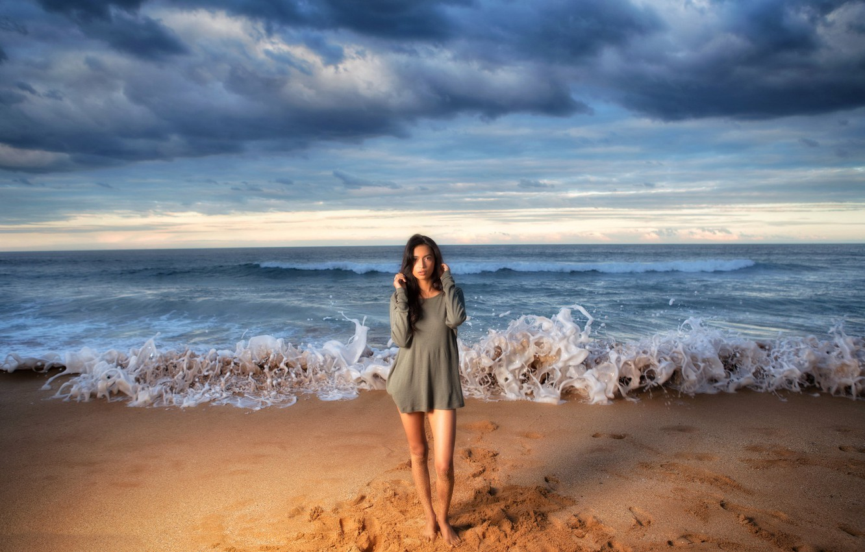 что украинские девушки на берегу моря фото марина