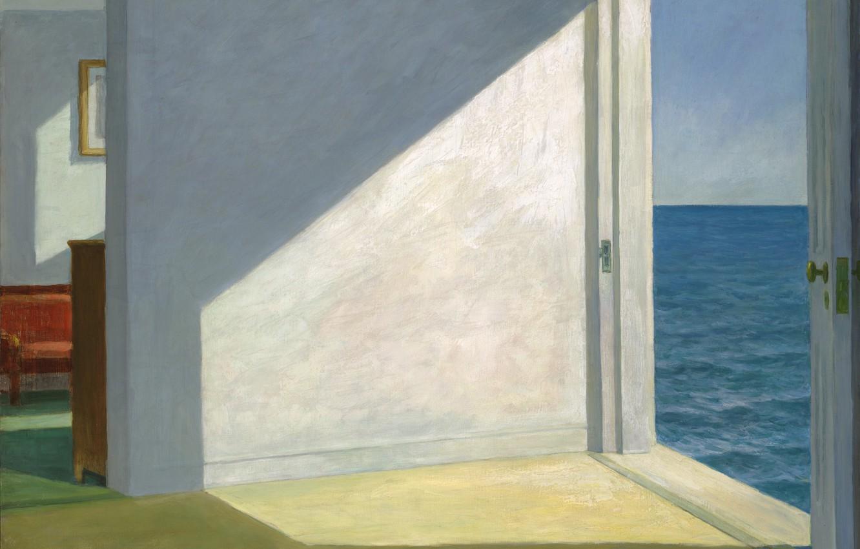 Фото обои 1951, Edward Hopper, Rooms By The Sea