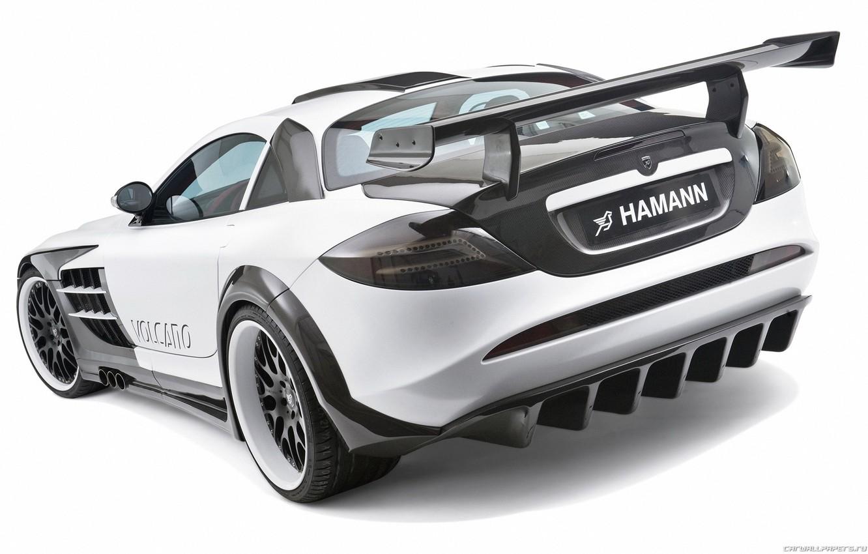 Фото обои купе, суперкар, Mercedes-Benz SLR McLaren, hamann volcano