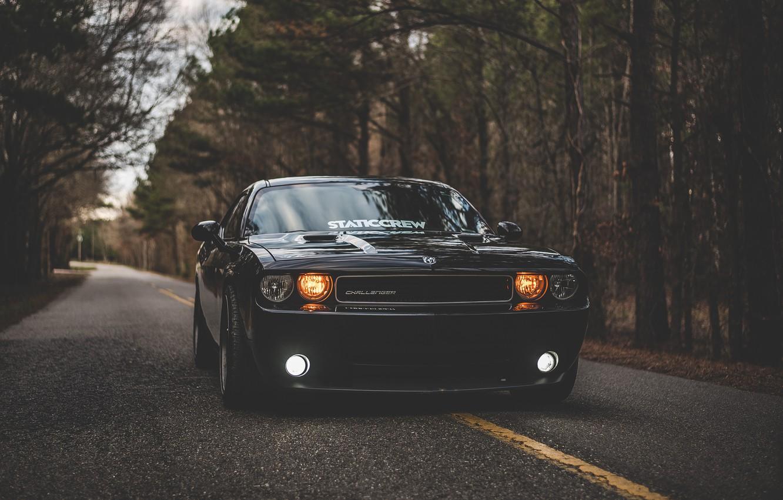 Фото обои Додж, Dodge, Challenger, Dodge Challenger, Додж Челенжер