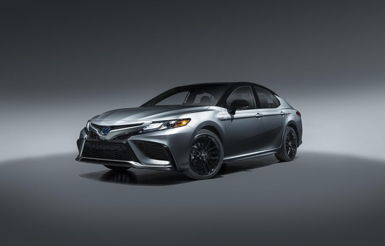 Фото обои Toyota, North America, Camry, 2020, Hybrid XSE