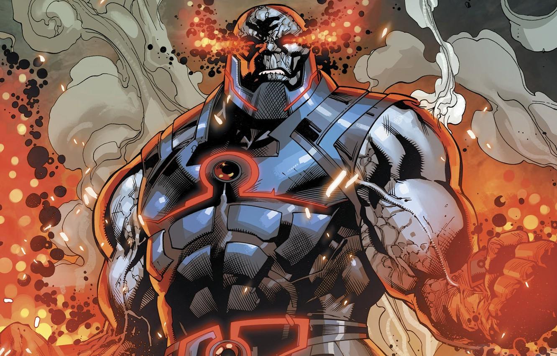 Фото обои DC comics, Justice League, Лига Справедливости, Darkseid, Darkseid War, Дарксайд, война Дарксайда