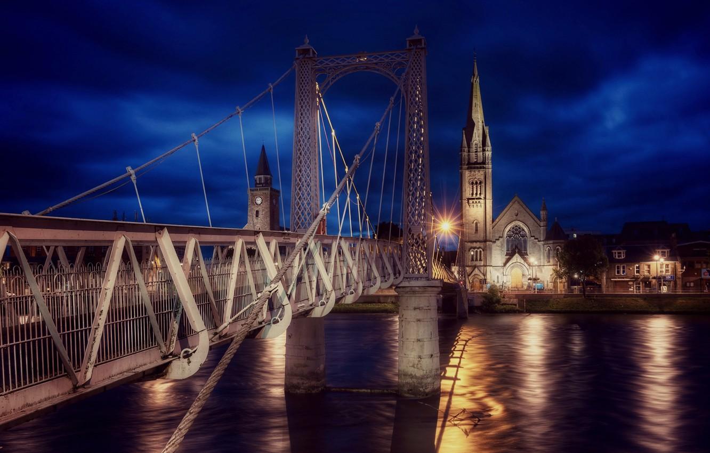 Фото обои Scotland, Inverness, Greig Street Bridge