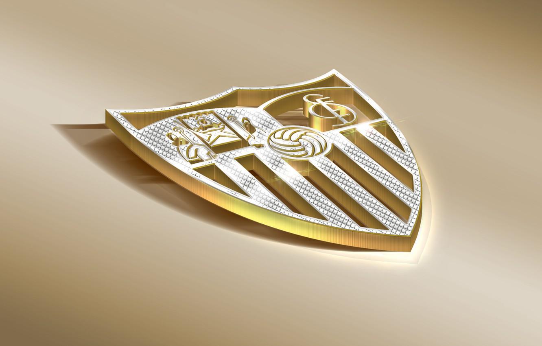 Фото обои Logo, Football, Sport, Soccer, Emblem, Sevilla, Spanish Club, Sevilla FC
