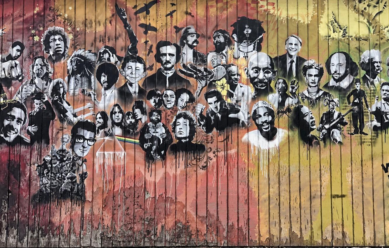 Обои фон, stena, graffiti. Разное foto 8