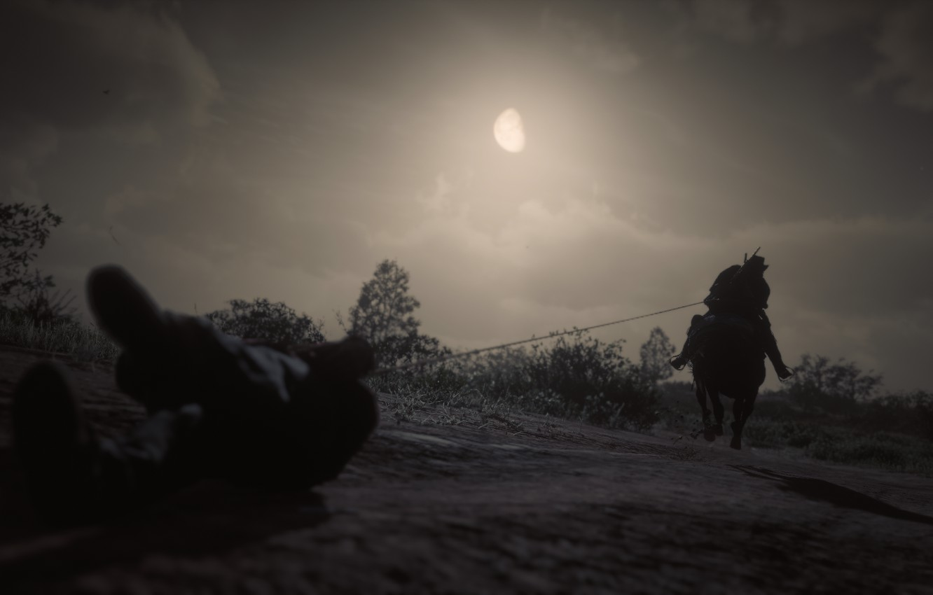 Фото обои Game, Rockstar Games, Red Dead Redemption 2, Gang, RDR