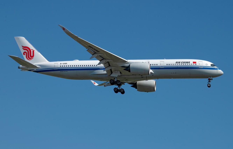 Фото обои Airbus, Air China, A350-900