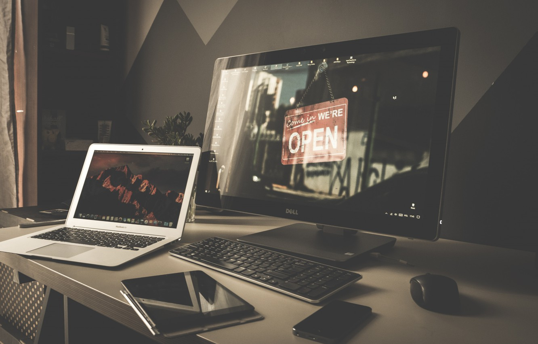 Фото обои Desktop, Wallpaper, Room, Computer