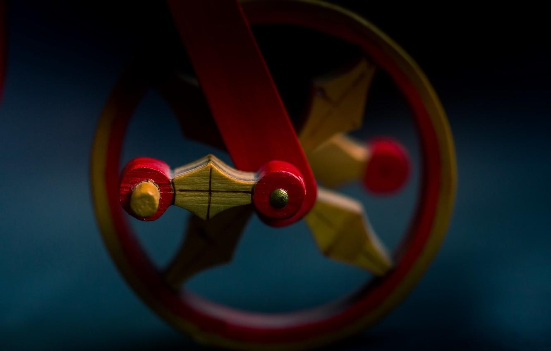 Фото обои макро, фон, колесо