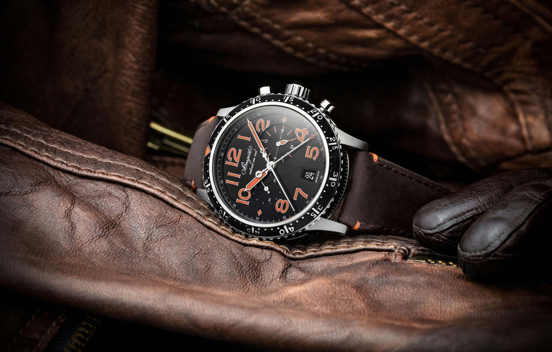 Фото обои Swiss Luxury Watches, Breguet, швейцарские наручные часы класса люкс, Breguet Type XXI 3815, Бреге
