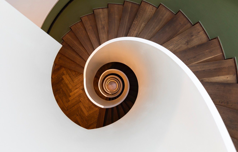 Фото обои spiral, staircase, switzerland, zurich, pascal meier