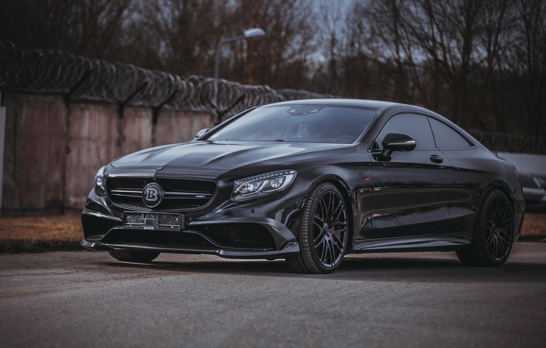 Фото обои Mercedes, Brabus, Coupe, Mercedes-benz, S-classe