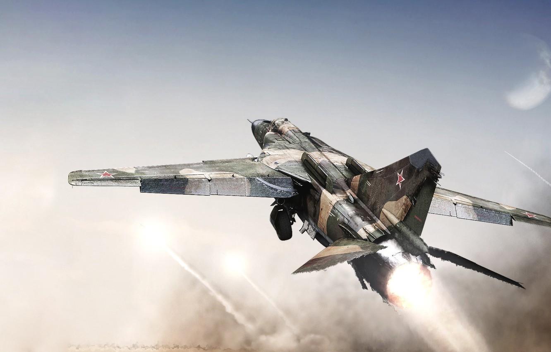 Обои советский многоцелевой истребитель. Авиация foto 16