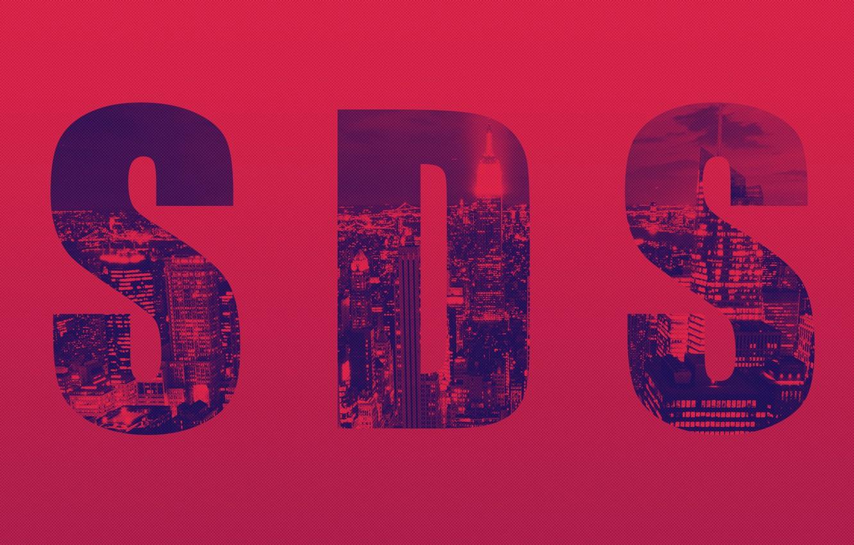 Фото обои красный, город, нью-йорк, new york, new york city, бордовый, sds