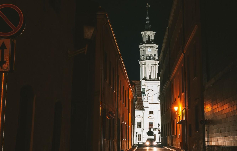 Фото обои Lietuva, Kaunas, Senamiestis