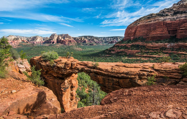 Фото обои пейзаж, природа, скалы, красота