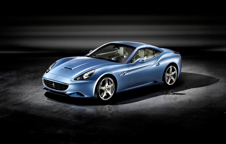 Фото обои Ferrari, родстер, California