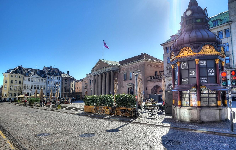 Фото обои Дания, апрель, Копенгаген, 2019
