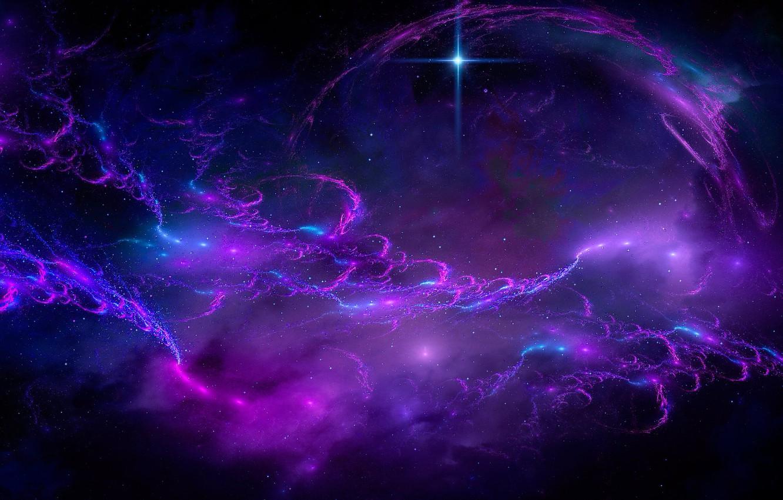 Фото обои космос, пространство, планета, space, planet, starlight, свет звезд, fantastic art, фантастический арт
