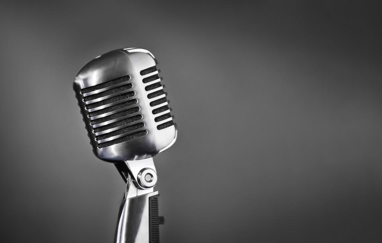 Обои микрофон, стиль, музыка. Музыка foto 7