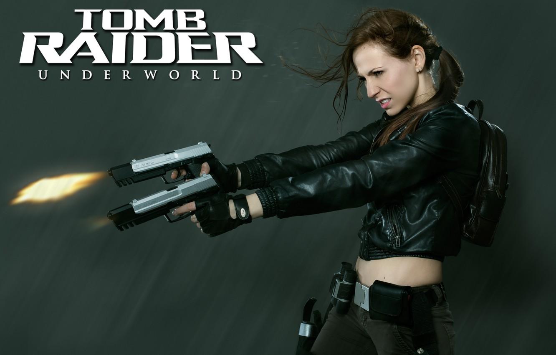 Фото обои Tomb Raider, Lara Coft, Cosplay, Tomb Raider underworld