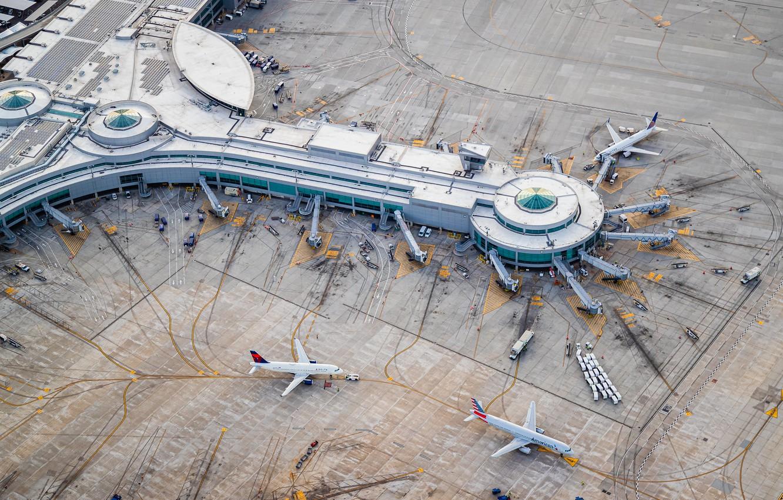 Фото обои San Diego, Terminal, International Airport