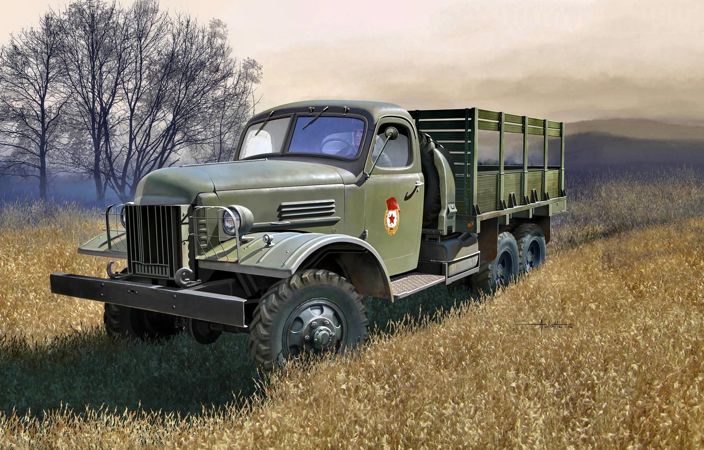 Обои truck, грузовой, повышенной, проходимости, автомобиль. Автомобили foto 6