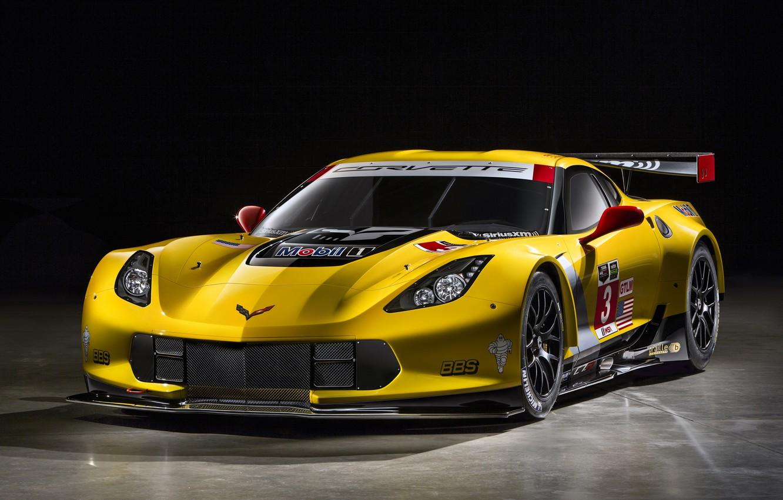 Фото обои Corvette, Chevrolet, GT2, C7.R, 2014-19