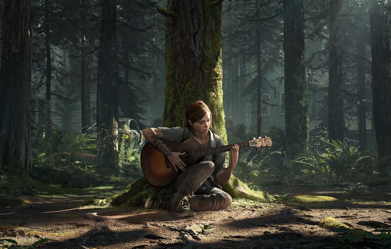 Фото обои Элли, Game, The Last of Us, Naughty Dog, Ellie, Одни из Нас, Sony Computer Entertainmen, …