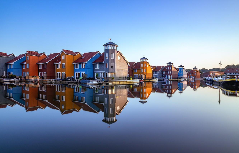 Фото обои Нидерланды, Голландия, Гронинген