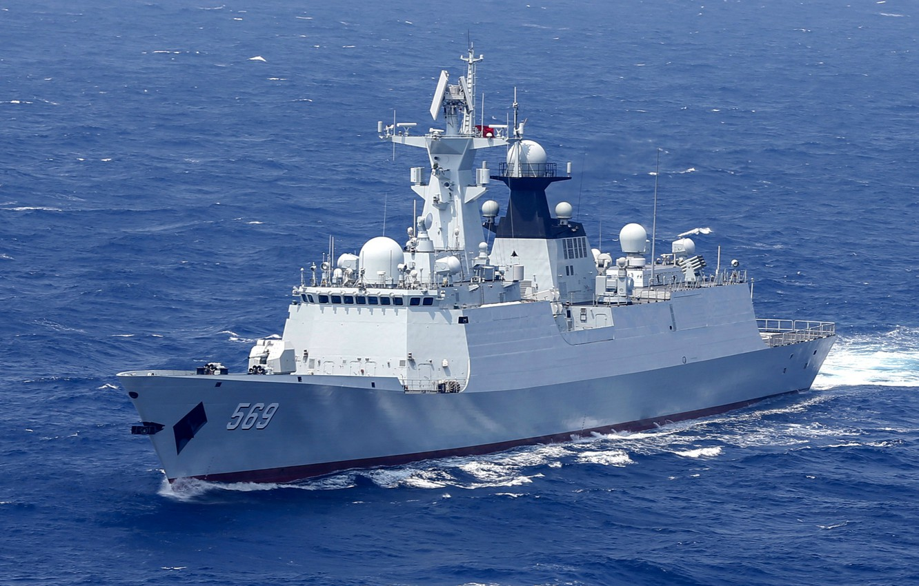 Фото обои weapon, Navy, frigate, Chinese Navy, 054A