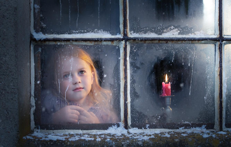 Обои настроение, Девочка, окно. Разное foto 6