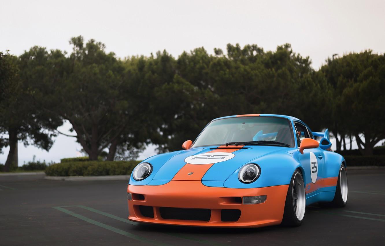 Фото обои 911, Porsche, GT2, 993